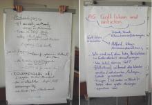 Ergebnisse Arbeitsgruppen